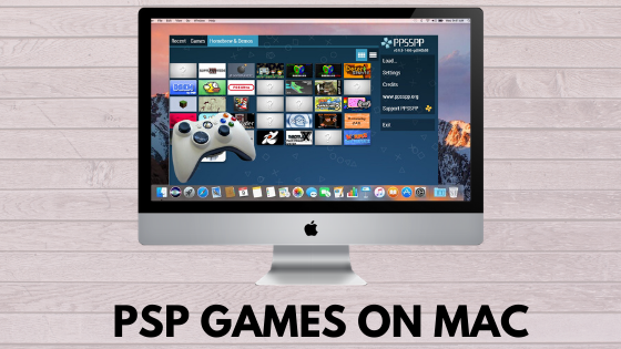 PSP Games on Mac