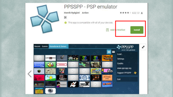install ppsspp on pc
