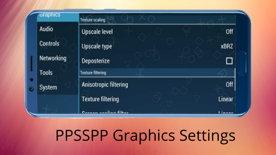 PPSSPP Game Settings